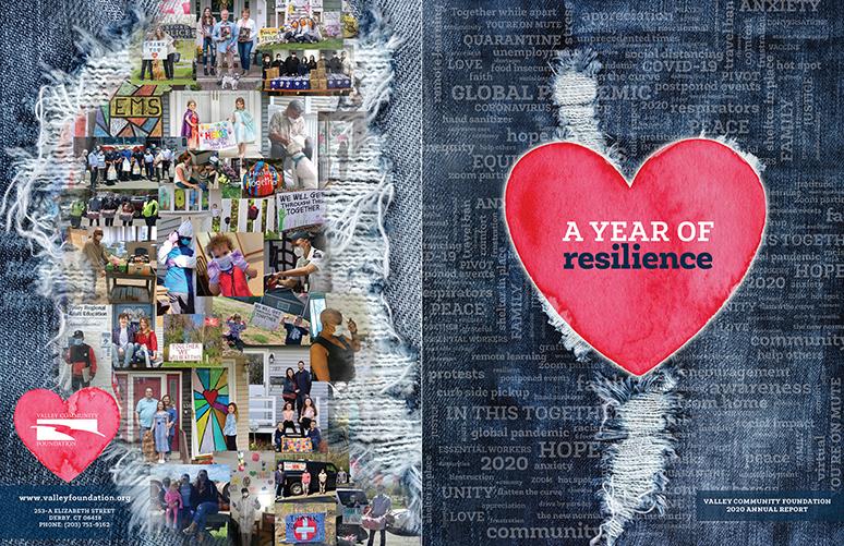 2020 VCF Annual Report cover spread
